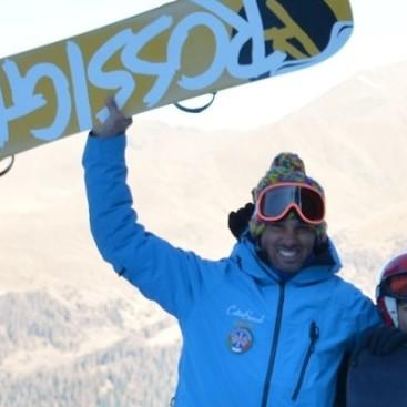 Maestro snowboard Alessio